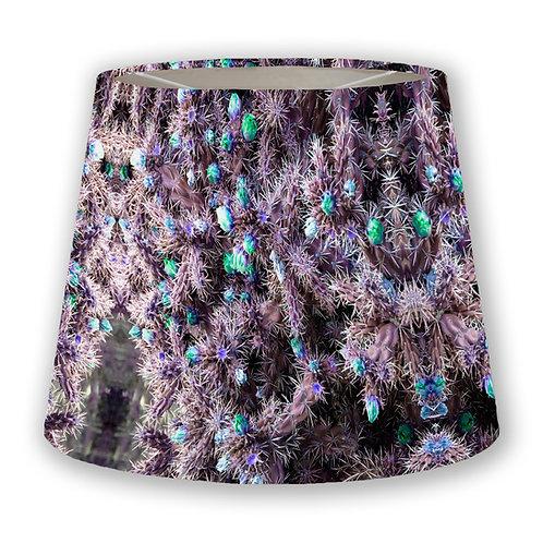 Lavender Cacti Cone Lampshade