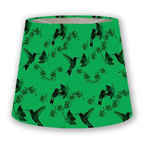 Green Hummingbirds Cone Lampshade