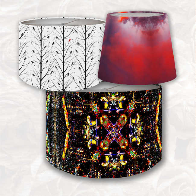 Lampshades from Ri Anderson Designs collection