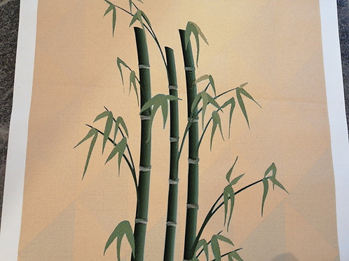 Bamboo Forest Display Model Wallcovering