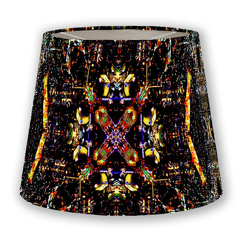 CDMX Night Kaleidoscope 2 Cone Lampshade