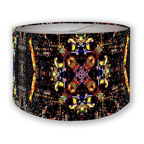 CDMX Night Kaleidoscope 2 Drum Lampshade