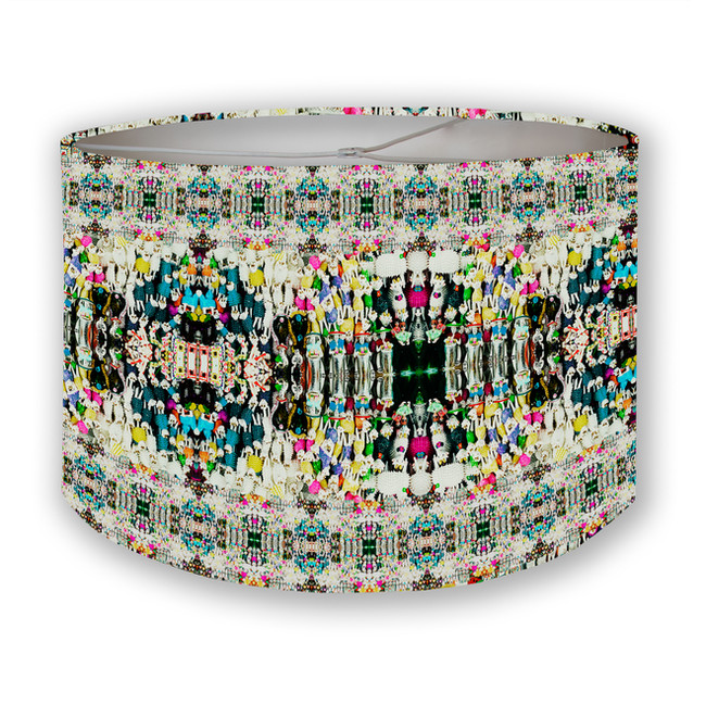 Day of Dead Sugar Candies Drum Lampshade