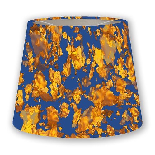 Gold Flakes1 Cone Lampshade