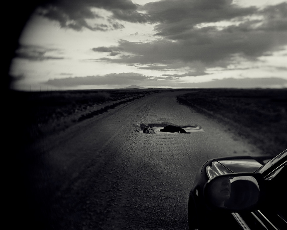 Road out of Roswell, New Mexico