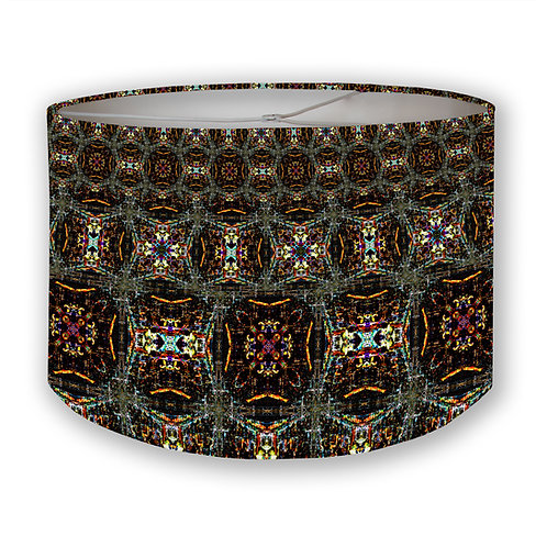 CDMX Night Kaleidoscope 1 Drum Lampshade