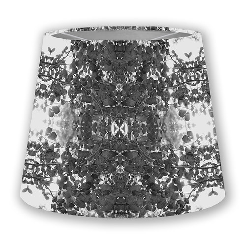 BW Leaves Cone Lampshade