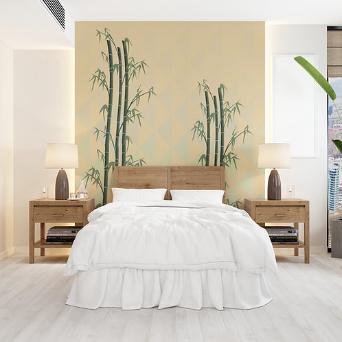Bamboo Valley Wall Covering
