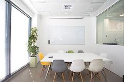חדר ישיבות במשרד הייטק