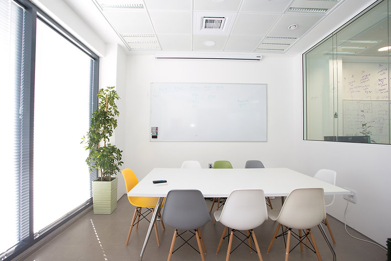 White Meeting Room