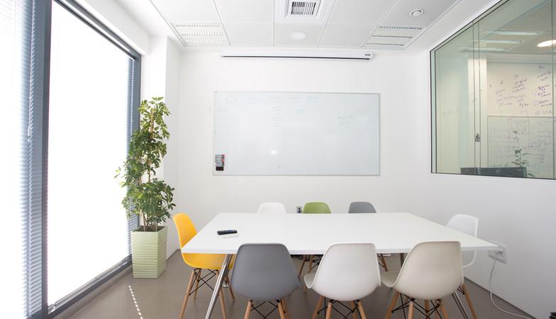 Blanca Sala de reuniones