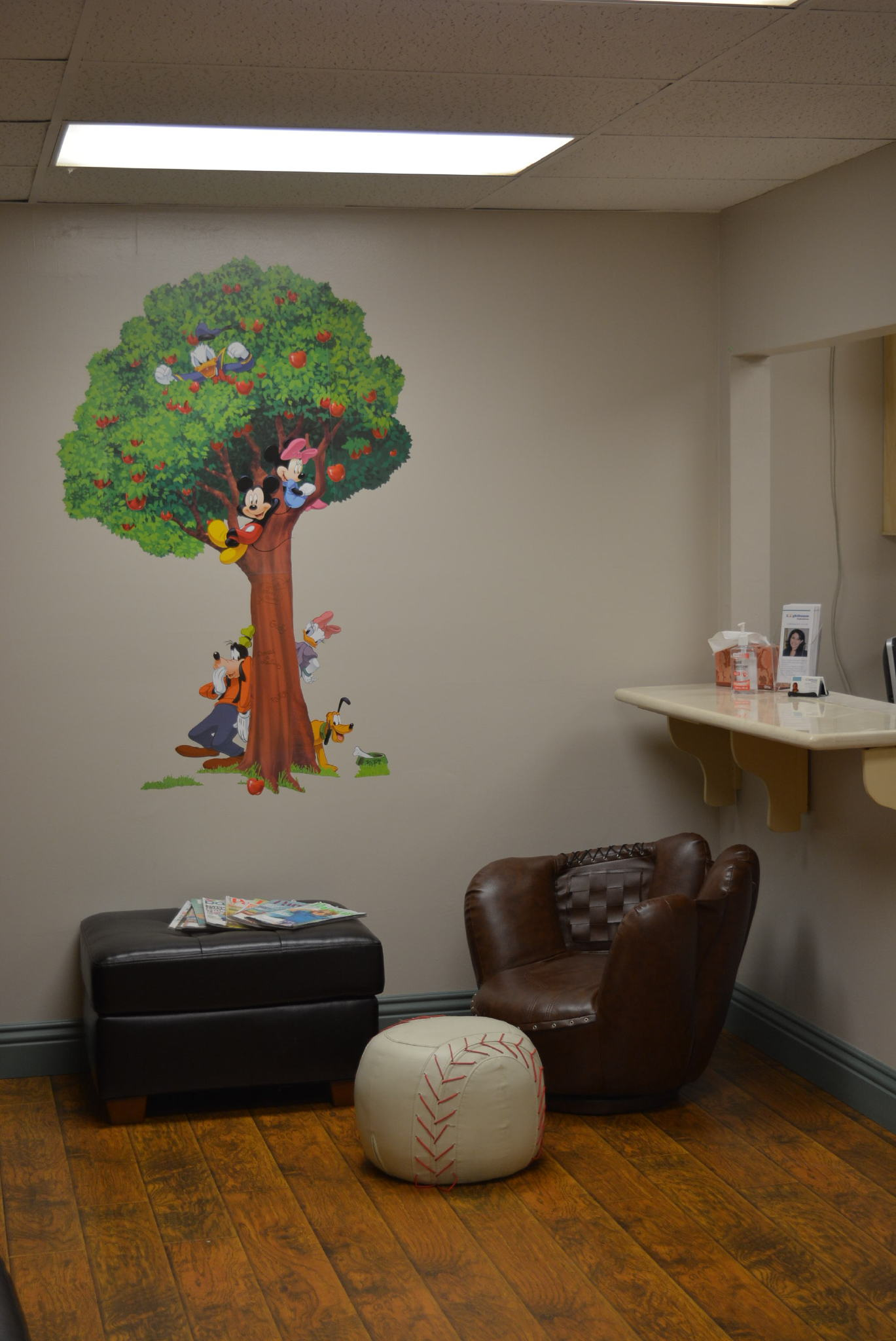 Lighthouse pediatrics lobby