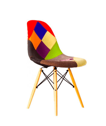 Silla Eames Patchwork Old