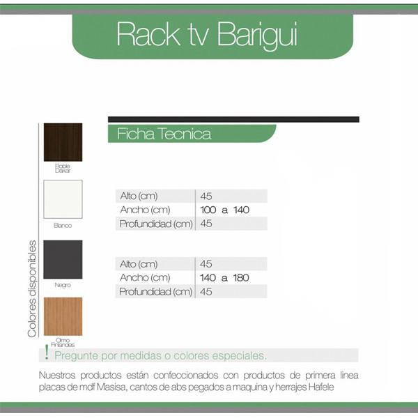 Rack Tv Barigui