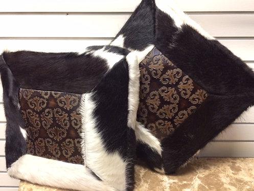 Brindle Cowhide Pillows