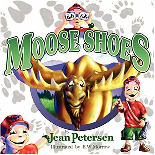 Moose Shoes - This children's book follows a boy's adventures in the forest.
