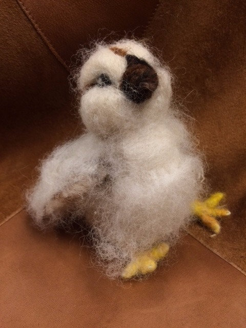 Handmade Alpaca Chick Stuffed Animal