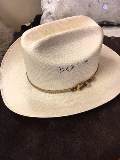Vintage Wrangler Straw Cowboy