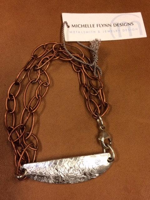 Copper Vintage Lure Bracelet