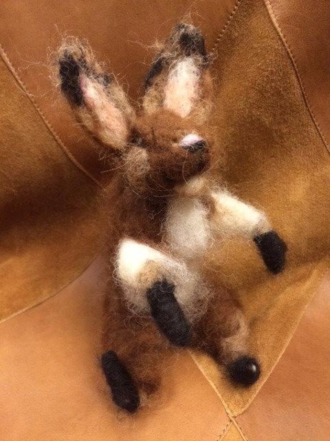 Handmade Alpaca Bunny Stuffed Animal