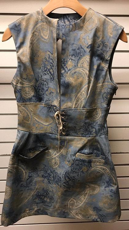 Paisley Dust Tie Tunic