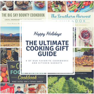 Big Sky Bounty Cookbook one of...The 8 Best Gifts for the Cooking Enthusiast
