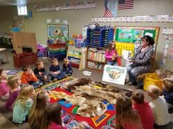 reading at preschool