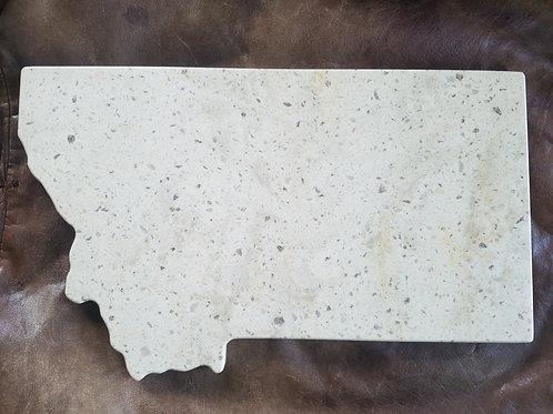 Custom Montana Corian Cutting/Cheese Board