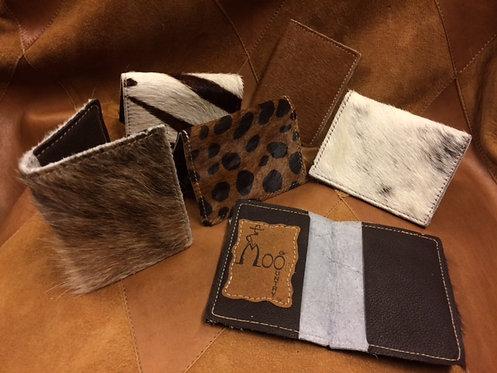 Brindle Cowhide Bi-Fold Wallet/Card Holder