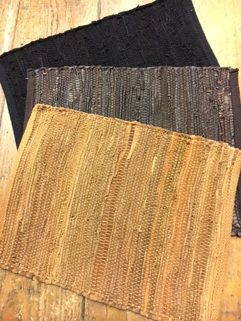 Woven Leather Placemats