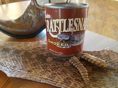 Smoked Rattlesnake Meat