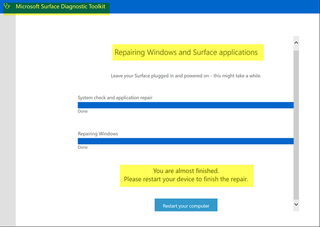Easy steps to get a Surface Book to run as if new at peak performance!