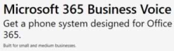 Microsoft 365 Business Voice Phone Syste