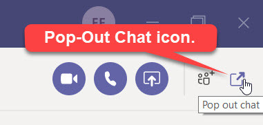 Yay for Microsoft Teams Pop-Out Chat and Meeting Windows!