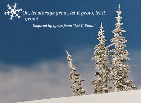 Oh, let storage grow, let it grow, let it grow!  Christmas with Azure File Sync.