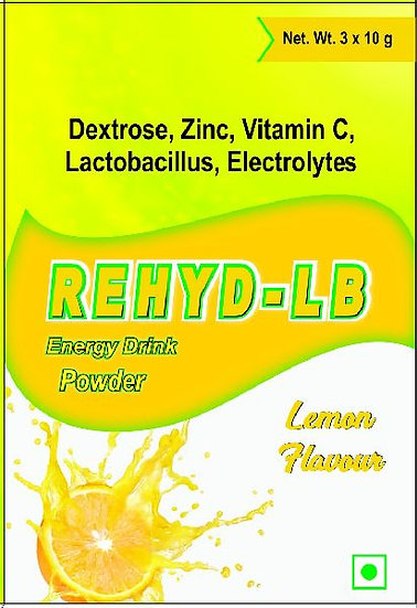 Rehyd-LB (3 Sachet in a Pack) Lime Flavour