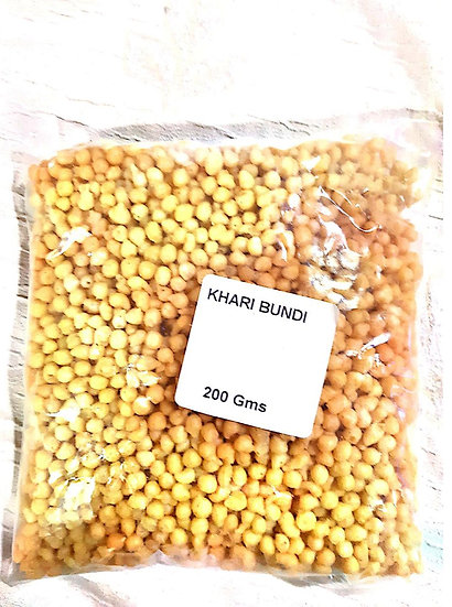 Khaari Bundi (200gm Pack)