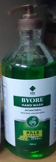 Hand Wash Byore Anti-bacterial Herbal  (500 ml)