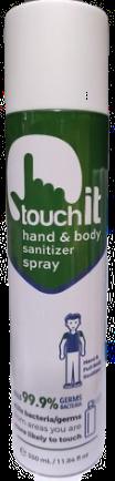Hand & Body Sanitiser Touch it Spray (350 ml)