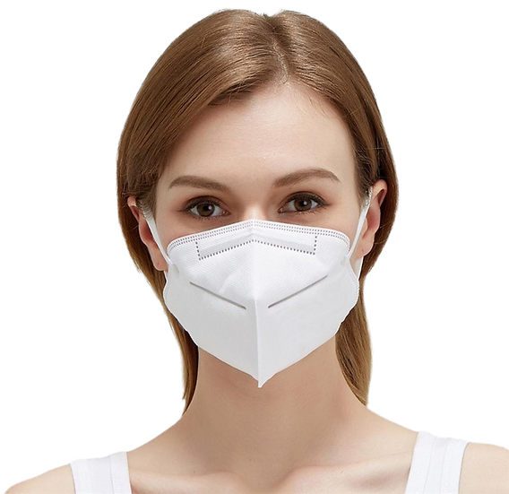 N95 Mask (Yellow Colour) Particulate Respirator (1 pc)