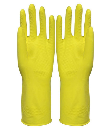 Rubber Gloves Re-usable (01 pair)