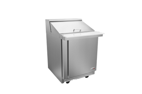 "Fagor 27"" Salad/Sandwich Megatop Refrigerated Prep Table FMT-27-12-N"