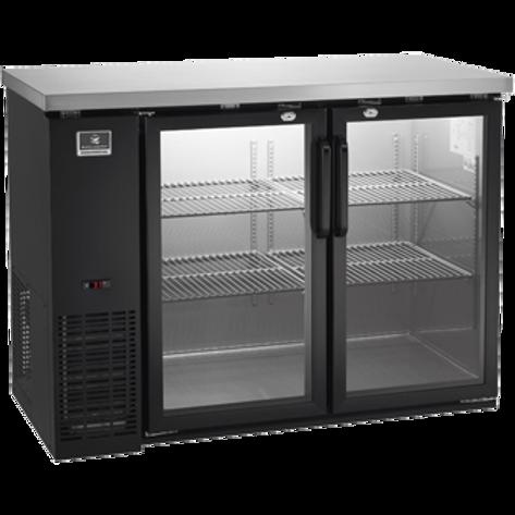 "Kelvinator 48"" Glass Door Back Bar Refrigerator KCBB48GB-HC"