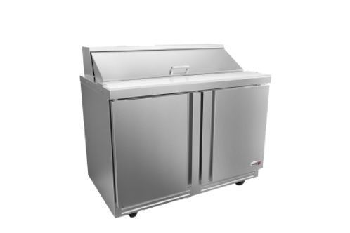 "Fagor 48"" Salad/Sandwich Refrigerated Prep Table FST-48-12-N"