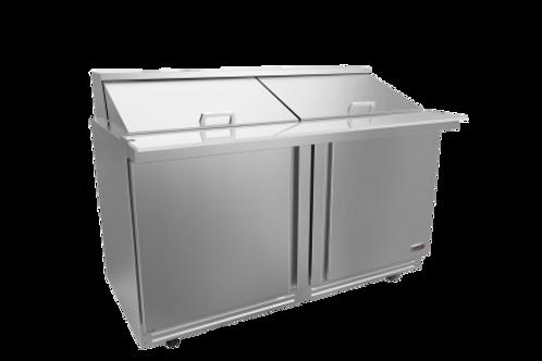 "Fagor 60"" Salad/Sandwich Megatop Refrigerated Prep Table FMT-60-24-N"