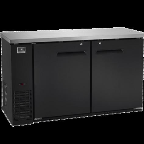 """Kelvinator 60"""" Solid Door Back Bar Refrigerator KCBB60SB-HC"""
