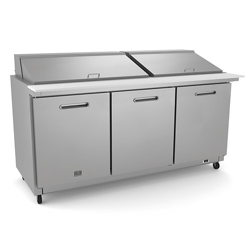 "Kelvinator 70"" Salad Mega Top Prep Table KCHMT70.30"