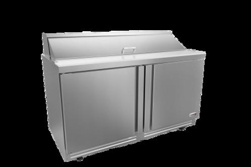 "Fagor 60"" Salad/Sandwich Refrigerated Prep Table FST-60-16-N"