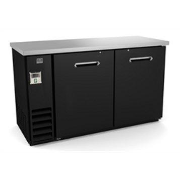 """Kelvinator 60"""" Solid Door Back Bar Refrigerator KCHBB60S"""