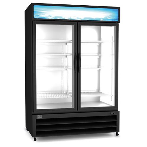 Kelvinator Two Door Reach-In Freezer Merchandiser 48 CU. FT. KCHGM48F